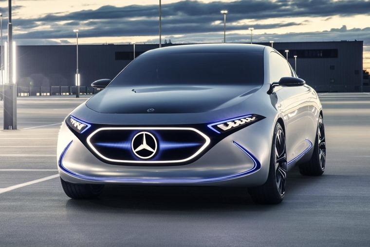 The most important Mercedes at Frankfurt?