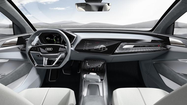 Audi E-Tron Sportback concept lead interior
