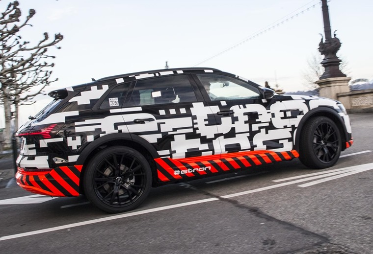 Audi e-tron SUV is set to launch next year, although you can reserve one now.