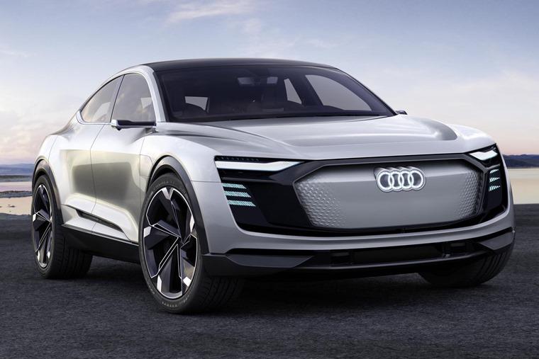 Audi E-Tron Sportback concept lead