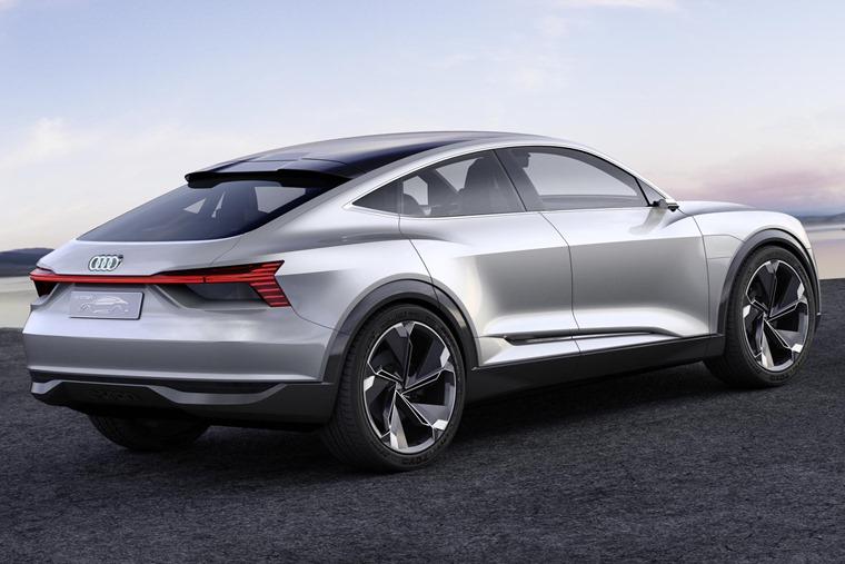 Audi E-Tron Sportback concept lead interior rear