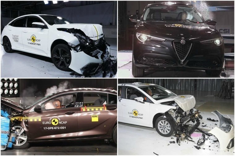Euro NCAP has been putting a number of all-new models through their paces.