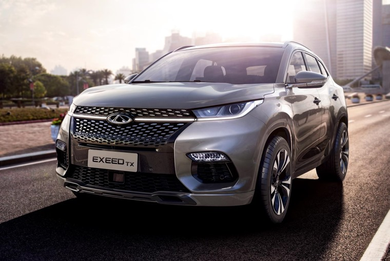 The is Chinese carmaker Chery's first Europe-bound car – the Exeed TX.