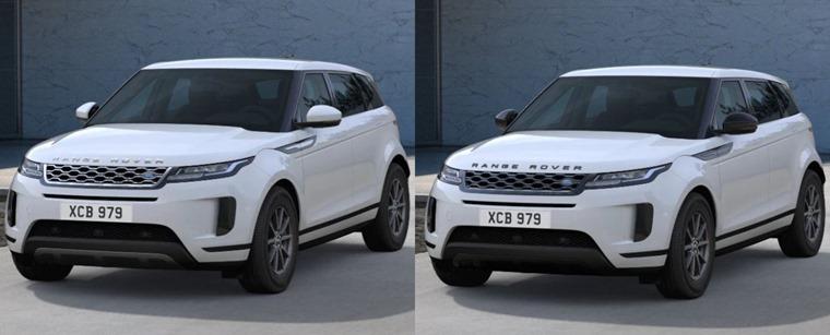 Exterior pack Range Rover Evoque