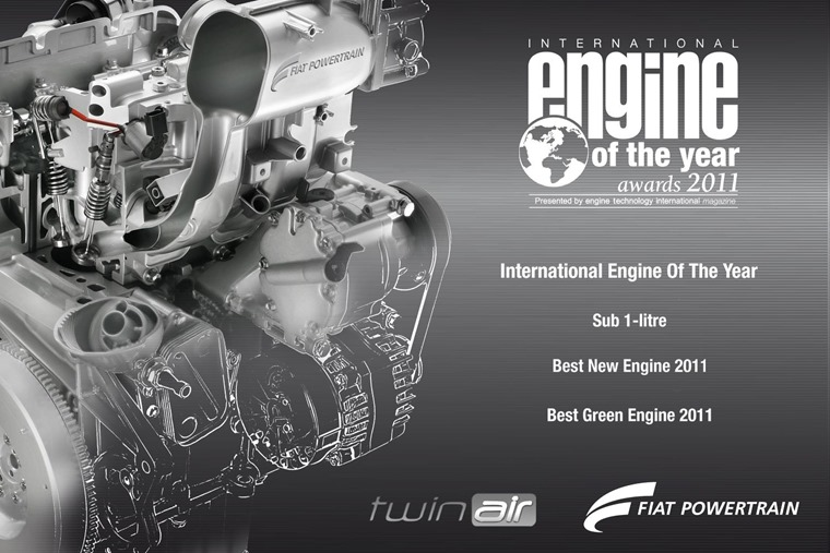 The only two-cylinder engine to make it to the European mass market in recent times is Fiat's TwinAir.
