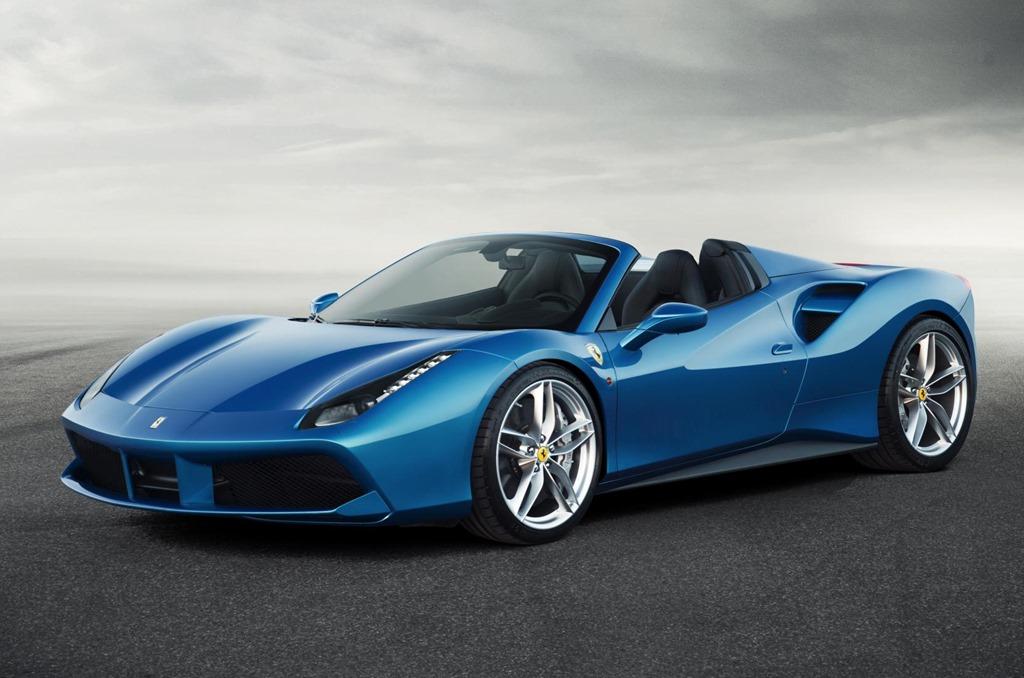 Ferrari announces convertible 488 Spider