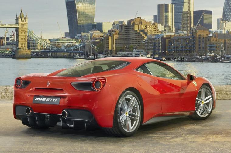 Ferrari 488 lease