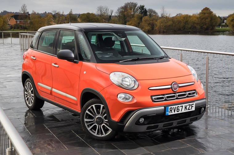 The new Fiat 500L is now available