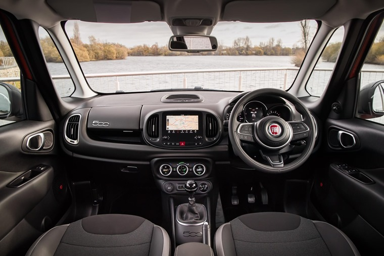 On the inside the 500L is completely new