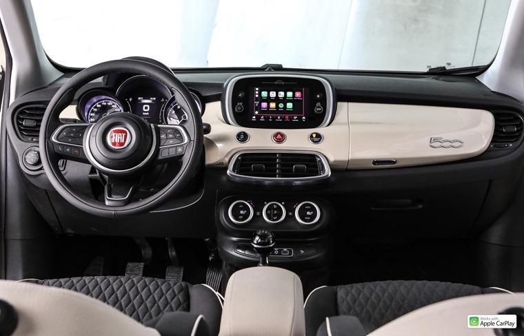 Fiat 500X 2018 interior