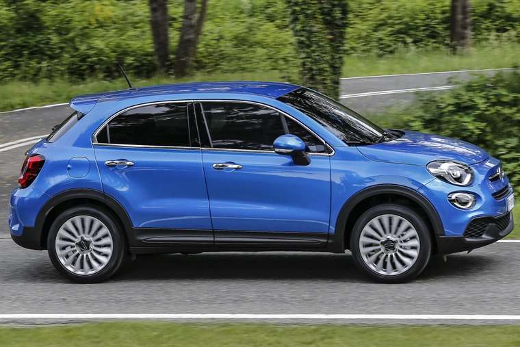 Fiat 500X 2018 side