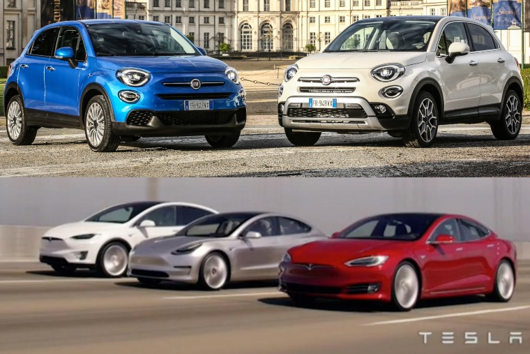 Fiat and Tesla - an unlikely pairing_