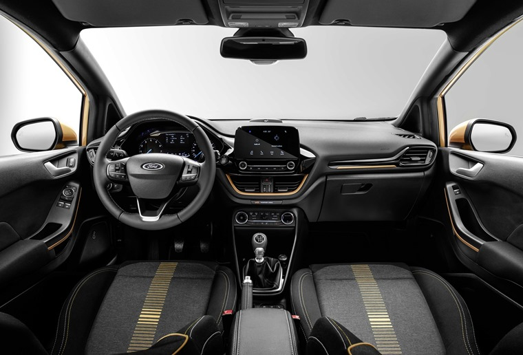 Ford Fiesta Active interior
