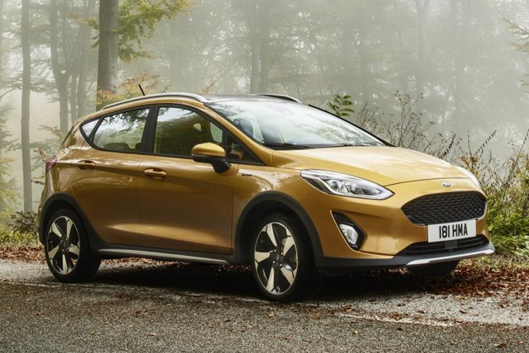 Ford Fiesta Active – a pseudo-crossover based on the popular supermini.
