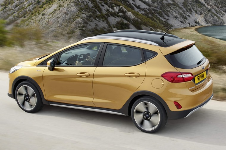 Ford Fiesta Active rear
