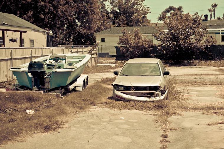 Flood-damaged car[5]