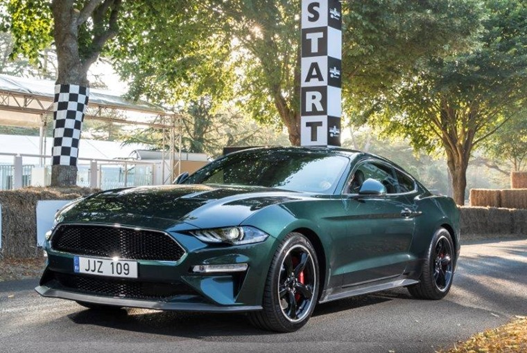 Ford Bullitt Mustang old and new at Goodwood (4)