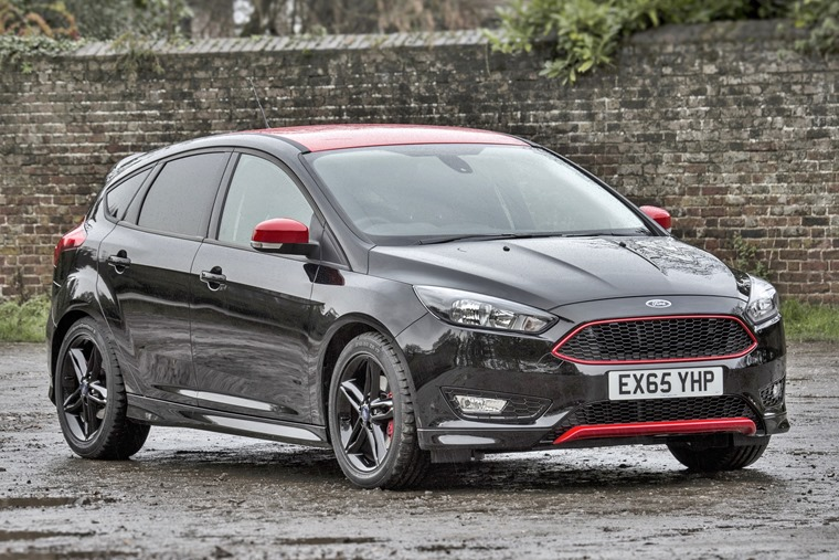 Ford Focus Black Edition 2016 Front Static