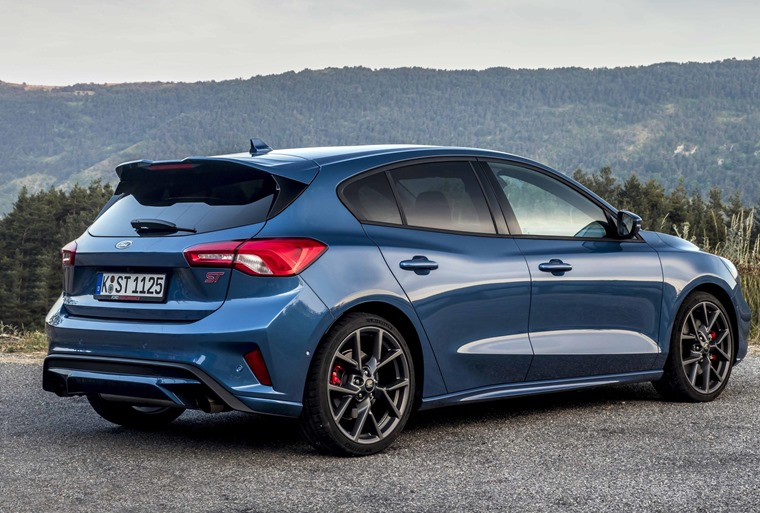 Ford Focus ST 2019 rear