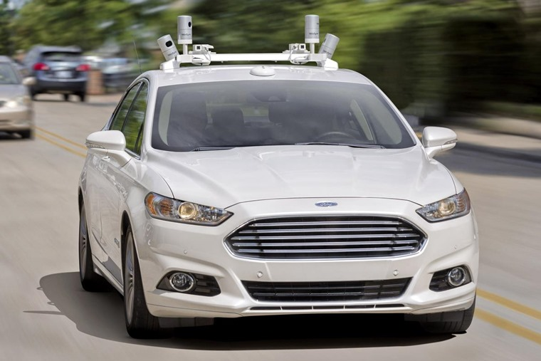 Over 30 Fusion Hybrids will make up Ford's autonomous test fleet by the end of the year