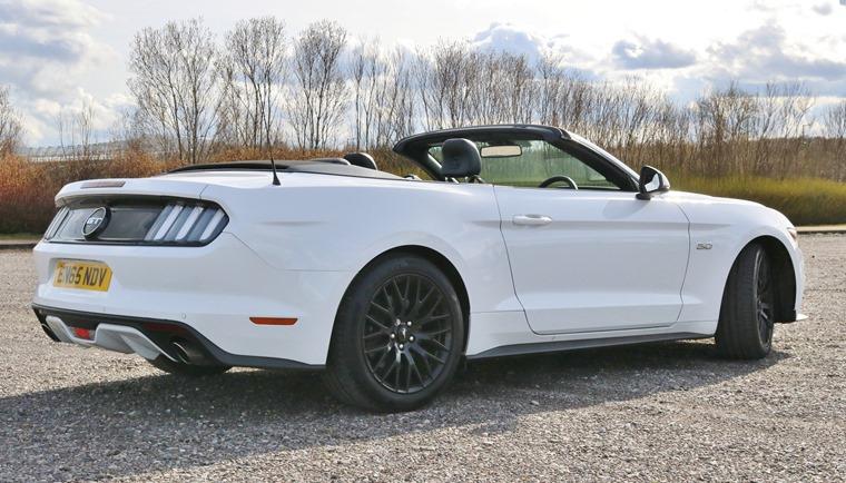 Ford Mustang 5 0 V8 Cabriolet 2016 Rear Static