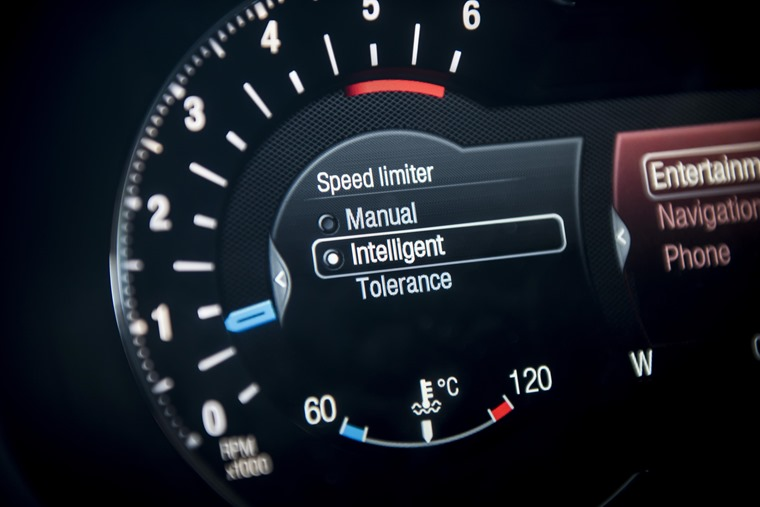 Ford S-Max Speed Limiter Dashboard
