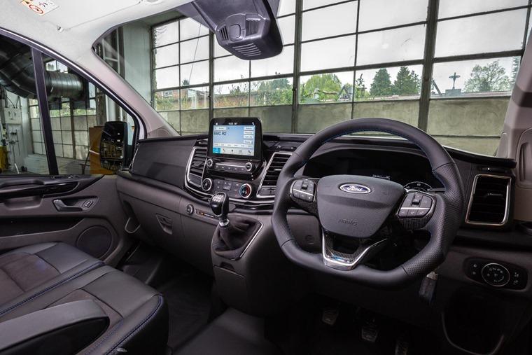 Ford Transit Custom MS-RT interior