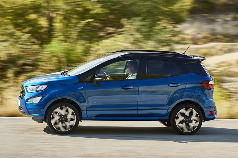 The new Ford EcoSport also offers Ford Intelligent All Wheel Drive technology