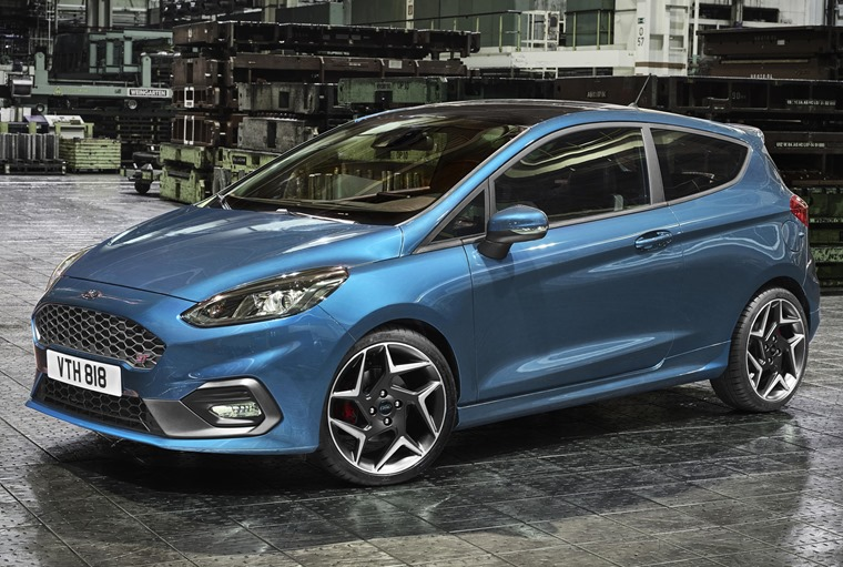 The next-gen Fiesta ST will hit the road early in 2018.