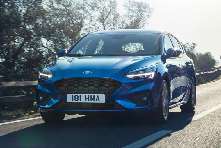 2018 Ford Focus driving