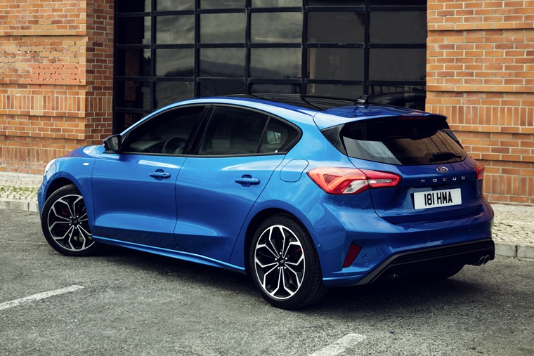 2018 Ford Focus side rear