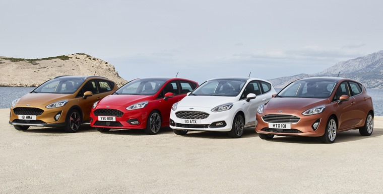 Trim levels have come a long way: A posh Vignale and crossover-style Active are offered in the new Fiesta range.