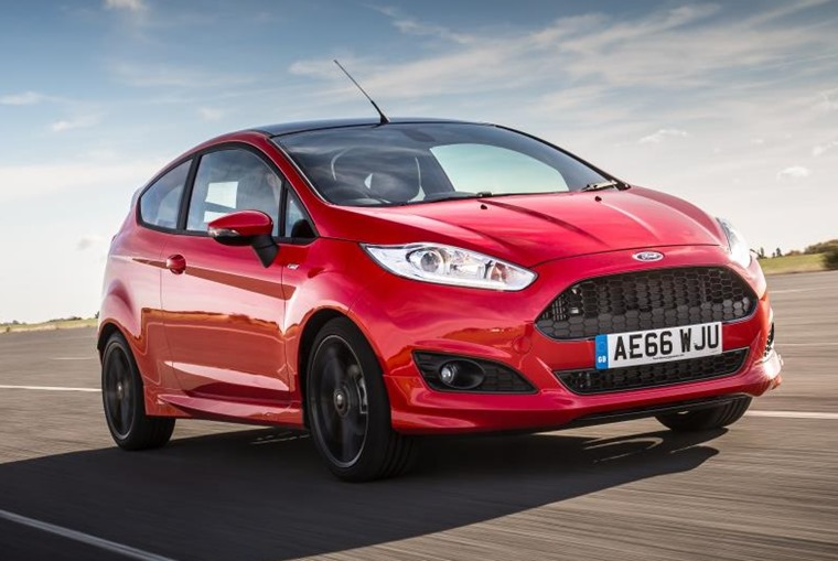 The Ford Fiesta is the best-selling car in Britain.