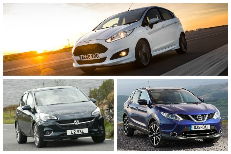 The best-selling cars of 2016 revealed in full