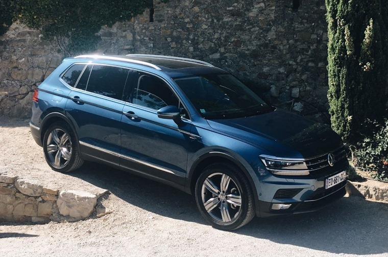 The Volkswagen Tiguan Allspace offers seven seats and a bigger boot than the standard car.