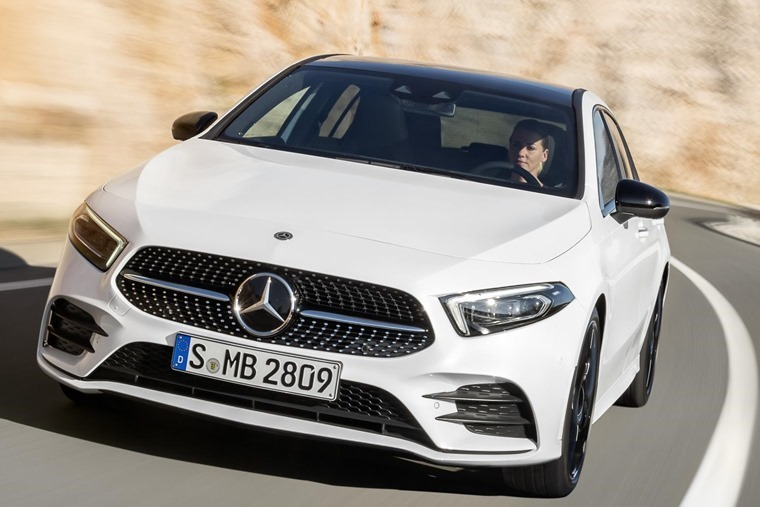 Mercedes-Benz A-Class  2018 Geneva Motor Show