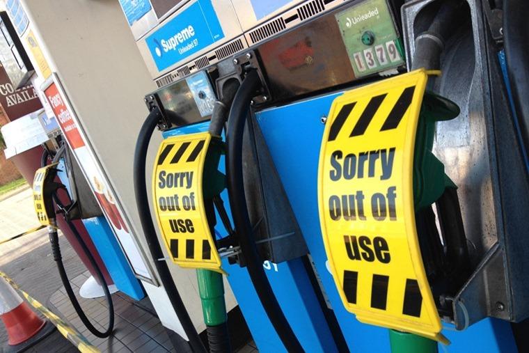 Fuel pumps out of service