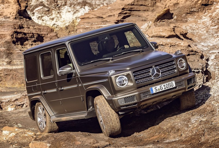 G-Class off-road