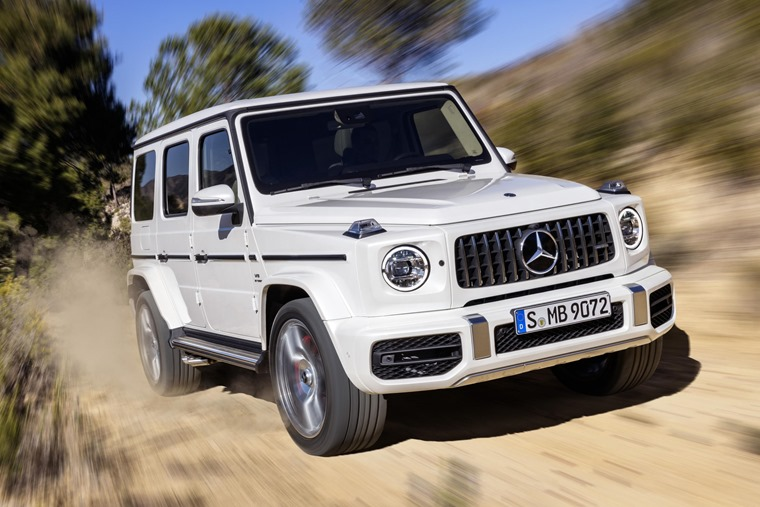 Mercedes-AMG has revealed the new  576bhp G 63.
