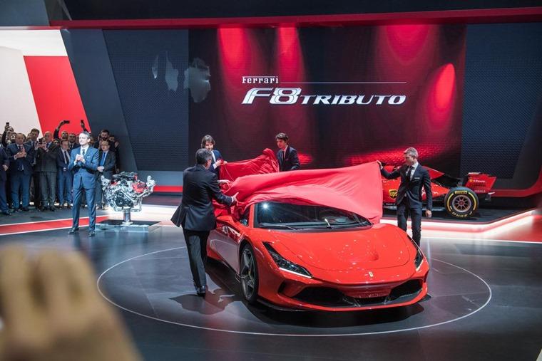 Geneva 2019 Ferrari