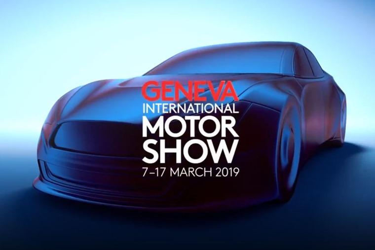 Geneva Motor Show 2019 branding