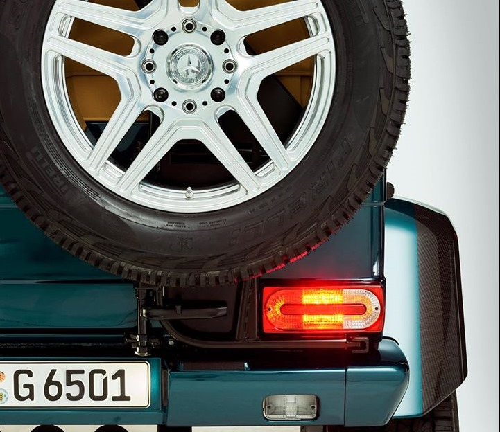 Mercedes' G63 AMG could be the company's latest wish to travel