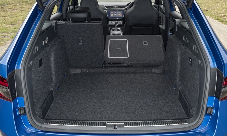 Skoda Superb Estate boot space