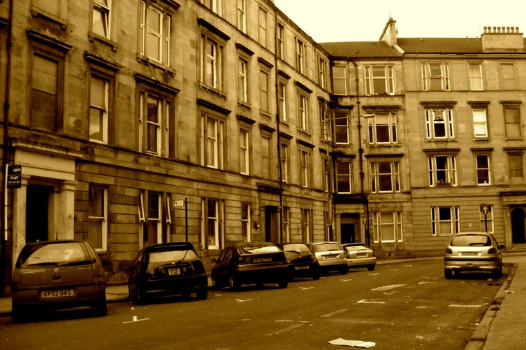 Scotland's many traditional tenement housing could prove a logistical nightmare for EV users.