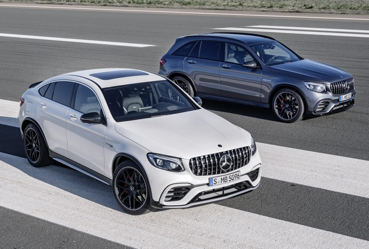 Mercedes offers its GLC in Coupe form too, but is it a better-looking car?
