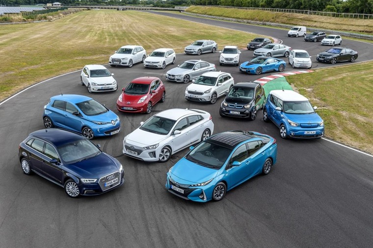 2017 was a record-breaking year for EV and hybrid uptake.