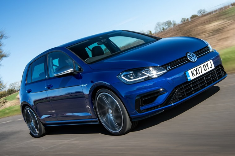 Where the GTI is a hot hatch then, the R is the super hatch