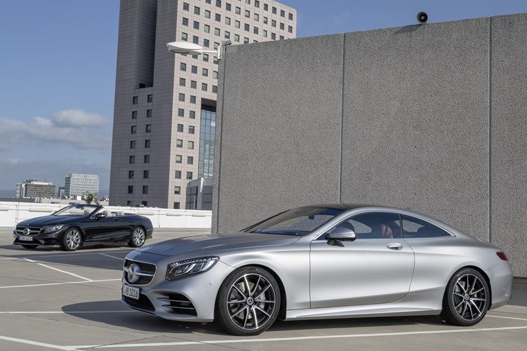 The Mercedes-Benz S-Class Cabriolet and Coupe have been updated.