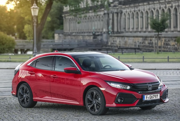 Honda Civic EX 1.6 i-DTEC side