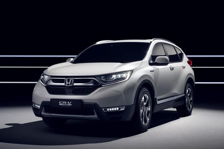 Honda CR-V Hybrid 2018 Geneva Motor Show